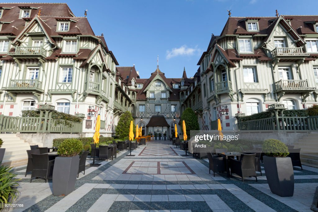 The Normandy Barriere Grand Hotel. : News Photo