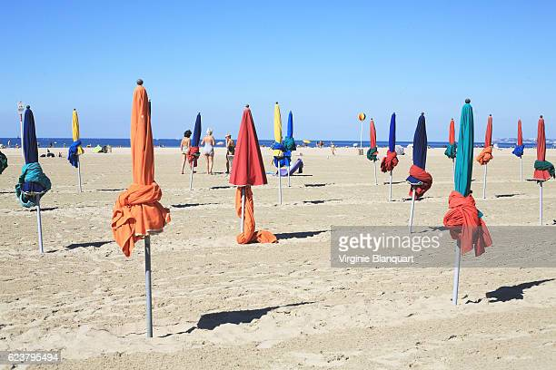 Deauville sur mer, Normandy on a sunny day. 07 september 2016