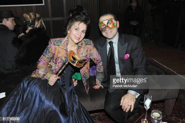 Deb Belfatto and Joe Belfatto attend VIP MASKED BALL for Susan G Komen Headlined by Sir Richard Branson Katie Couric Cornelia Guest HM Queen Noor and...