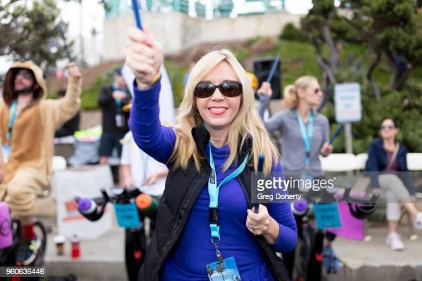 Deb Carson attends the 6th Annual Tour de Pier at Manhattan Beach Pier on May 20 2018 in Manhattan Beach California