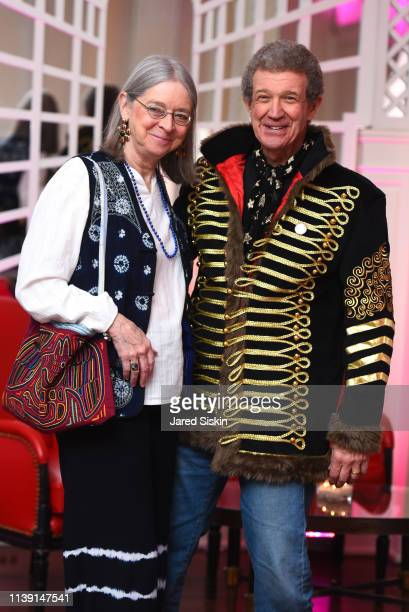 Deb Ryan and Bill Ryan attend Lapham's Quarterly Decades Ball 2019 at 583 Park Avenue on March 25 2019 in New York City