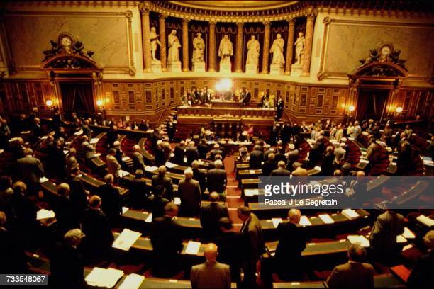 Debate At The Senate On The Maastricht Treaty