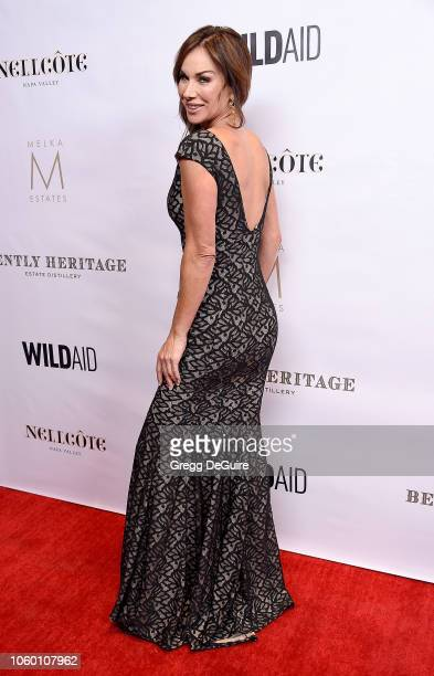 Debbe Dunning arrives at An Evening in China with WildAid at the Beverly Wilshire Four Seasons Hotel on November 10 2018 in Beverly Hills California