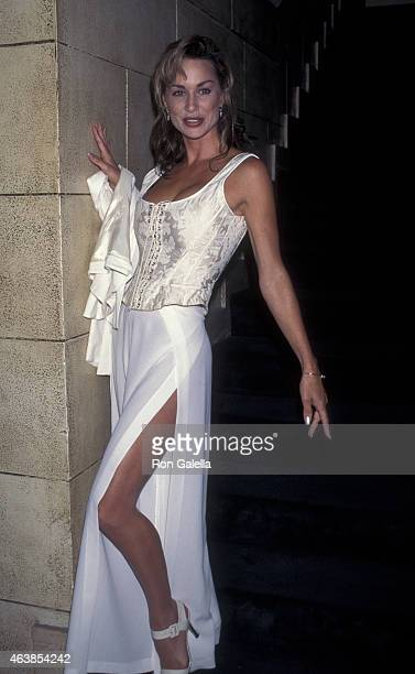 Debbe Dunning attends PGA Championship Tour Reception on August 9 1995 at Riviera Country Club in Brentwood California