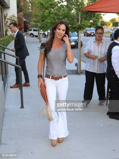 Debbe Dunning is seen on April 30 2017 in Los Angeles California