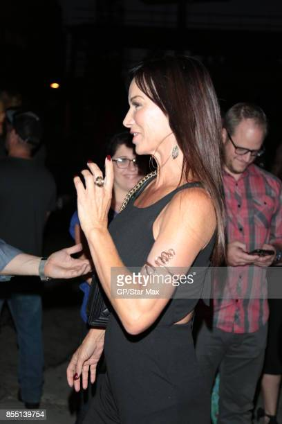 Debbe Dunning is seen on September 27 2017 in Los Angeles CA