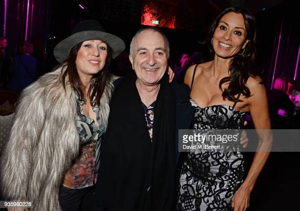 Debbi Clark Tony Robinson and Melanie Sykes attend The Perfumer's Story evening of Scentsory delights hosted by Aures London Azzi Glasser at...