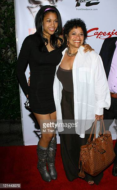 Debbie Allen and daughter Vivian Allen during Birthday Celebration and Launch of BFree Apparel Footwear Collection at Les Deux in Hollywood...