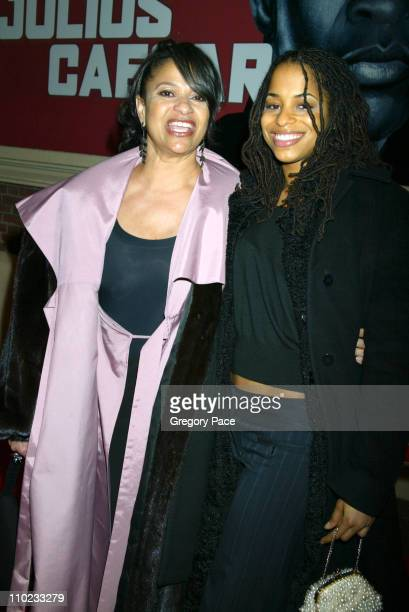 Debbie Allen and her daughter Vivian during Julius Caesar Broadway Opening Night Red Carpet Arrivals at The Belasco Theater in New York City New York...