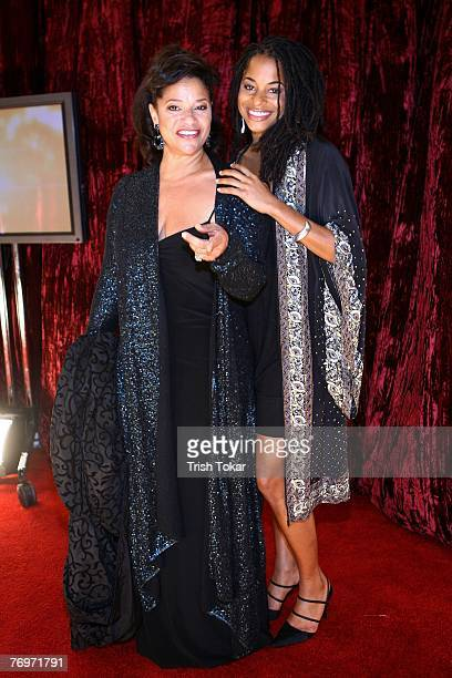 Debbie Allen and her daughter Vivian Nixon attend the 29th Annual Evening of Stars honoring Smokey Robinson presented by the United Negro College...