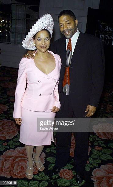 Debbie Allen and her husband Norm Nixon at the 46th Annual Genii Awards held at the Beverly Hilton Hotel in Beverly Hills Ca 5/11/01 Delta Burke...