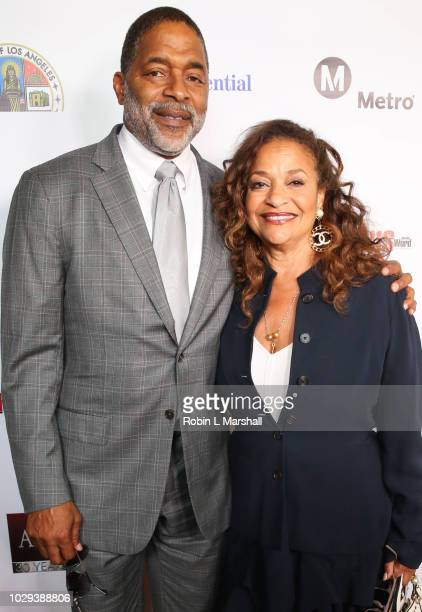 Debbie Allen and husband Norm Nixon attend the 21st Annual First Ladies High Tea at The Beverly Hilton Hotel on September 8 2018 in Beverly Hills...