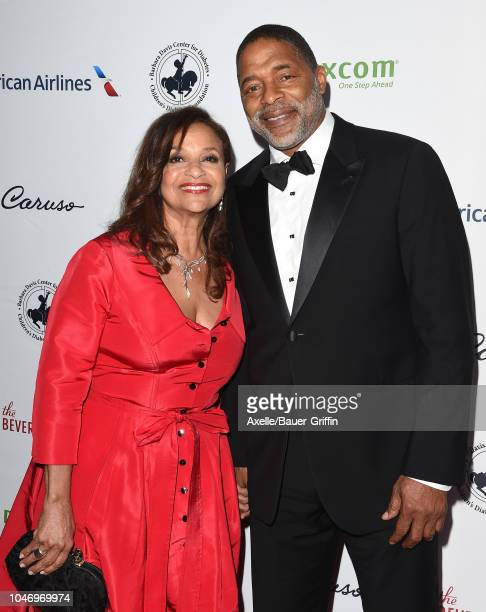 Debbie Allen and Norm Nixon attend the 2018 Carousel of Hope Ball at The Beverly Hilton Hotel on October 6 2018 in Beverly Hills California