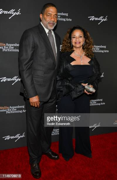 Debbie Allen and Norm Nixon attend the Wallis Annenberg Center for the Performing Arts Spring Celebration An Evening of Wicked Fun honoring Stephen...