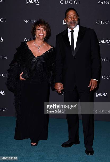 Debbie Allen and Norman Nixon attend LACMA 2015 ArtFilm Gala Honoring James Turrell and Alejandro G Iñárritu Presented by Gucci at LACMA on November...