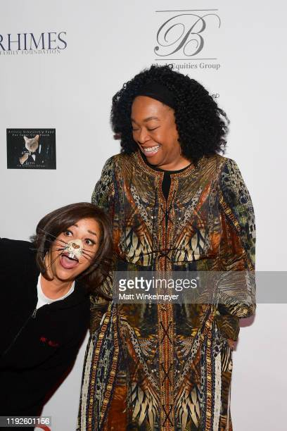 "Debbie Allen and Shonda Rhimes attend Debbie Allen's ""Hot Chocolate Nutcracker"" 10th Anniversary Gala at Redondo Beach Performing Arts Center on..."