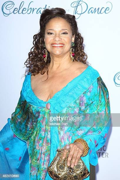 Debbie Allen arrives at The Dizzy Feet Foundation's 4th Annual Celebration of Dance Gala held at Dorothy Chandler Pavilion on July 19 2014 in Los...