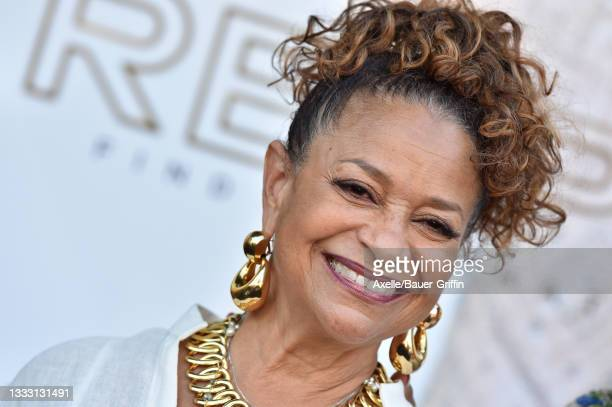 """Debbie Allen attends the Los Angeles Premiere of MGM's """"Respect"""" at Regency Village Theatre on August 08, 2021 in Los Angeles, California."""