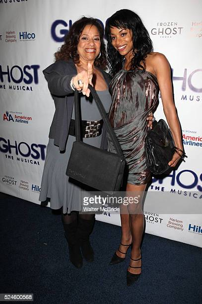 Debbie Allen daughter Vivian Nixon attending the Broadway Opening Night Performance of 'GHOST' a the LuntFontanne Theater on 4/23/2012 in New York...
