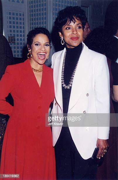 Debbie Allen Phylicia Rashad during 1995 File Photos