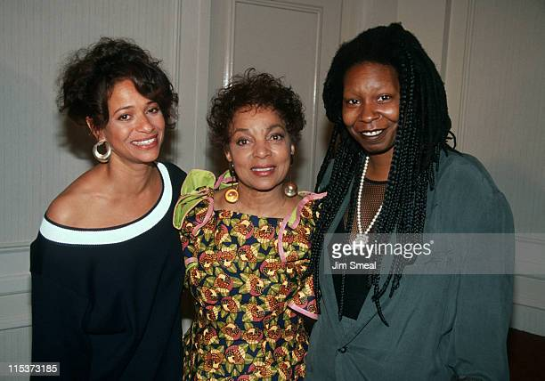 Debbie Allen, Ruby Dee, and Whoopi Goldberg during 1991 Women In Film Awards - June 7, 1991 at Century Plaza Hotel in Century City, California,...