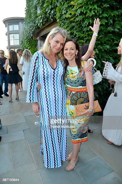 Debbie Bancroft and Bettina Zilkha attend Tom Diane Tuft and Christina Cuomo Celebrate the Launch of Jay McInerney's New Novel Bright Precious Days...