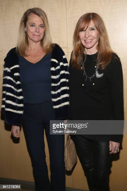 Debbie Bancroft and Nicole Miller attend 'A Quiet Place' New York Premiere After Party on April 2 2018 in New York City