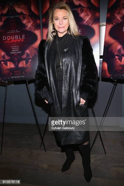 Debbie Bancroft attends Cohen Media Group with The Cinema Society host the New York Premiere of 'Double Lover' on January 25 2018 in New York City