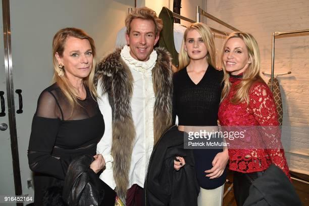 Debbie Bancroft Derek Warburton Mason Grammer and Camille Grammer attend the Nicole Miller Fall 2018 Runway Show at Industria Studios on February 9...