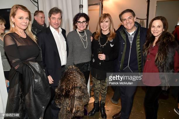 Debbie Bancroft Guest Lisa Cohen Nicole Miller Richard Mishaan and Bettina Zilkha attend the Nicole Miller Fall 2018 Runway Show at Industria Studios...
