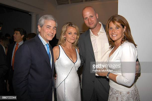 Debbie Bancroft Jason Cipolla and Loraine Bracco attend The Parrish Art Museum Midsummer Party at Parrish Art Museum on July 9 2005 in Southampton NY