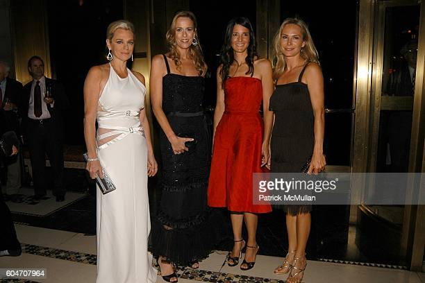 Debbie Bancroft Julia Koch BJ Blum and Valesca GuerrandHermes attend New Yorkers for Children Fall 2006 Gala at Cipriani 42nd Street on September 21...