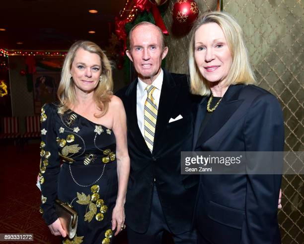 Debbie Bancroft Mark Gilbertson and Anne Eisenhower attend A Christmas Cheer Holiday Party 2017 Hosted by George Farias and Anne and Jay McInerney at...
