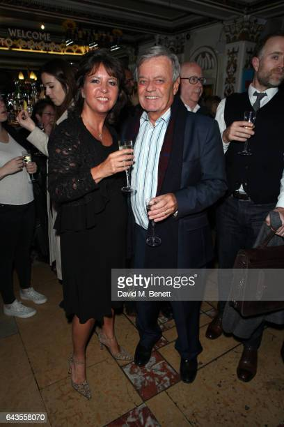 Debbie Blackburn and Tony Blackburn attend the press night performance of The Girls at The Phoenix Theatre on February 21 2017 in London England