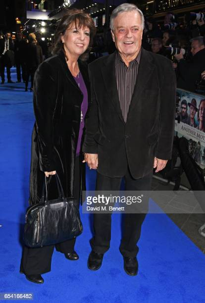 Debbie Blackburn and Tony Blackburn attend the World Premiere of Another Mother's Son on March 16 2017 in London England