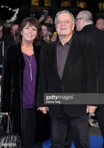 Debbie Blackburn and Tony Blackburn attend the World Premiere of Another Mother's Son at the Odeon Leicester Square on March 16 2017 in London England