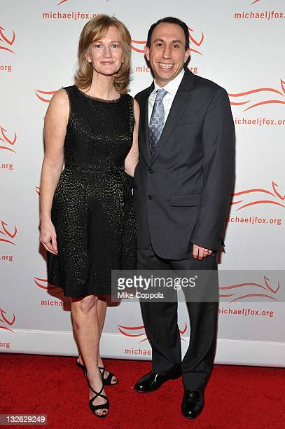 Debbie Brooks and Todd Brooks attend the 2011 A Funny Thing Happened On The Way To Cure Parkinson's event at The Waldorf=Astoria on November 12 2011...