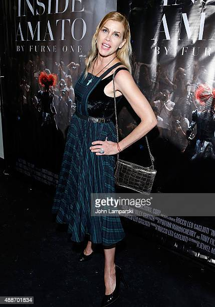 Debbie Dickinson attends 'Inside Amato' New York premiere at Liberty Theater on September 16 2015 in New York City