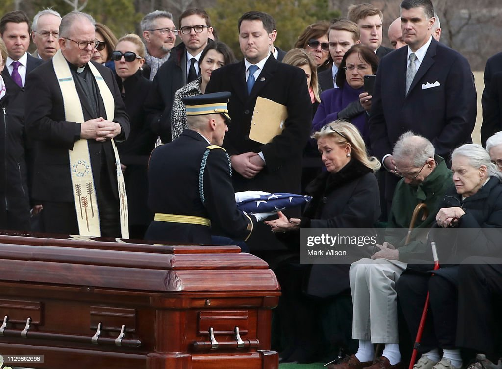 VA: Former Michigan Rep. John Dingell Interred At Arlington National Cemetery