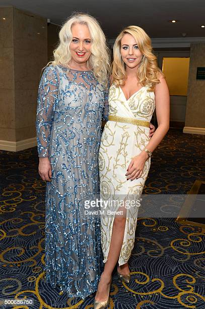 Debbie Douglas and Lydia Bright attend the Guide Dogs Annual Awards 2015 at the Hilton Park Lane on December 9 2015 in London England