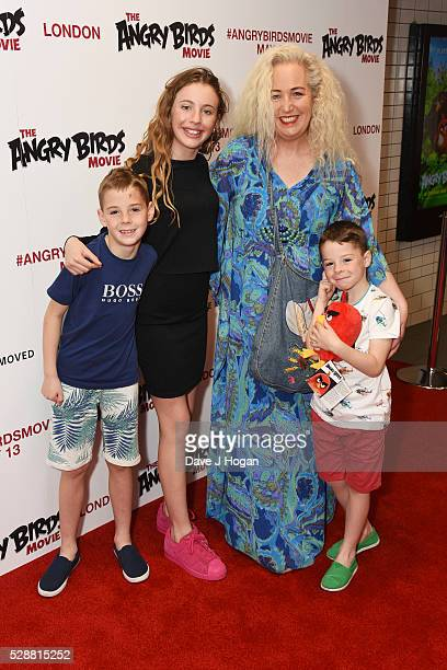 Debbie Douglas attends the UK gala screening of Angry Birds at Picturehouse Central on May 7 2016 in London England