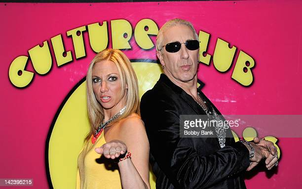 Debbie Gibson and Dee Snider visit the Culture Club on April 3 2012 in New York City