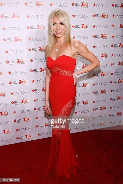 Debbie Gibson attends the 2016 Go Red for Women Dress Collectionat Skylight at Moynihan Station on February 11 2016 in New York City