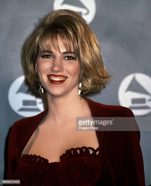 Debbie Gibson attends the 33rd Annual Grammy Awards circa 1991 in New York City