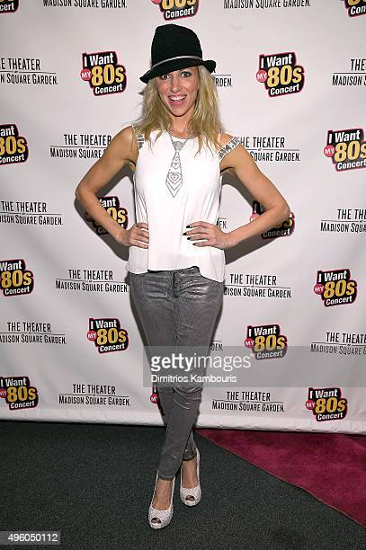 Debbie Gibson attends the I Want My 80's Concert at The Theater at Madison Square Garden on November 6 2015 in New York City