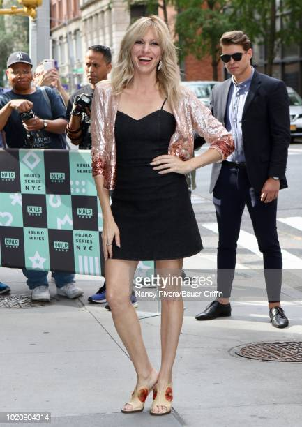 Debbie Gibson is seen on August 21 2018 in New York City
