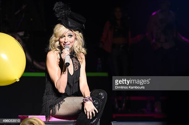 Debbie Gibson performs at the I Want My 80's Concert at The Theater at Madison Square Garden on November 6 2015 in New York City