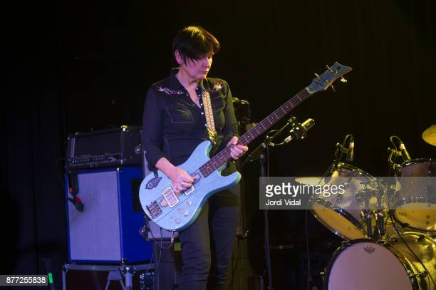 Debbie Googe performs on stage at Sala Apolo on November 21 2017 in Barcelona Spain
