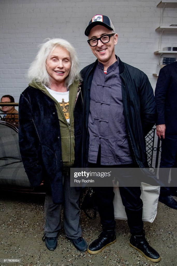 Debbie Harry and Alan Cumming attend the screening after party for 'The Party' hosted by Roadside Attractions and Great Point Media with The Cinema Society at Metrograph on February 12, 2018 in New York City.