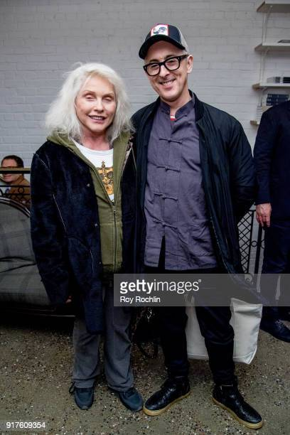 Debbie Harry and Alan Cumming attend the screening after party for 'The Party' hosted by Roadside Attractions and Great Point Media with The Cinema...